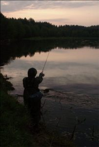 Ночная ловля на спиннинг