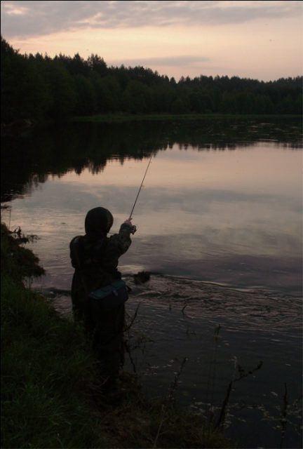 Photo of Ночная ловля на спиннинг