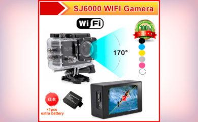 Экшн камера SJ6000 Full HD 1080P WiFi Waterproof. Инструкция на русском. Описание