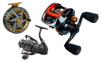Фото для Катушки для рыбалки. Виды и характеристики рыболовных катушек